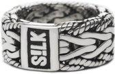 SILK Jewellery - Zilveren Ring - Infinite - 231.18 - Maat 18