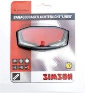 Simson Lineo XB - Achterlicht - Batterij - Led