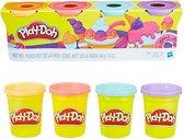 Play-Doh Zoete Kleuren Klei - 4 Potjes