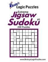 Brainy's Logic Puzzles Extreme Jigsaw Sudoku #1 200 Puzzles