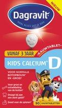 Dagravit Kids Clacium +D - 90 kauwtabletten