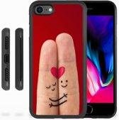 iPhone 8 Backcover Liefde