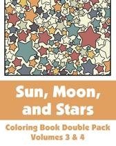 Sun, Moon, and Stars Coloring Book Double Pack (Volumes 3 & 4)