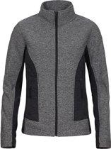 Icepeak Lis Fleece  Sportjas - Maat 38  - Vrouwen - beige/grijs