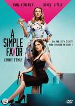 DVD cover van A Simple Favor