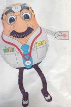 folieballon - airwalker - Get Well Soon! - leeg