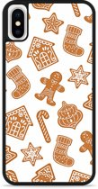 iPhone X Hardcase hoesje Christmas Cookies