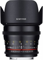 Samyang 50mm T1.5 Vdslr As Umc - Prime lens - geschikt voor Micro 4/3