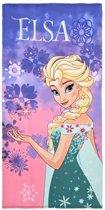 Frozen Elsa strandlaken 70 x 140 cm - multi