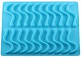 Duo Pack snoep mal - 2 Gummy wormen snoepjes mal - inclusief 2 gratis grote pipetten