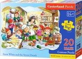 Snow White and the Seven Dwarfs puzzel 20 maxi stukjes
