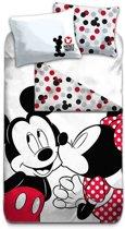 Disney Minnie - Dekbedovertrek - Eenpersoons - 140x200 cm + 1 kussensloop 60x70 cm - Multi