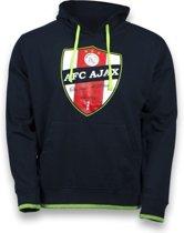 Ajax Sweater Hooded Away 2012/2013 Zwart Schild Maat S