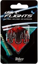 Abbey Darts Flights - Rood/Zwart/Blauw