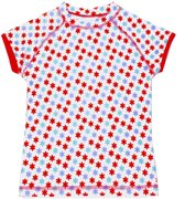 Ducksday UV shirt kids korte mouwen - Lilly | 122-128cm