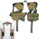 Practical & Convenient Nylon Outdoor Military Axillary Holster(Army Green)