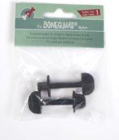 Boneguard Schroef voor Boneguard Maat 1 - Reserveonderdeel - 2 stuks