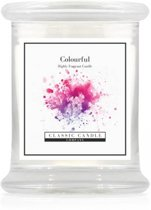 Classic Candle Medium Jar Colourful