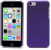 rubber coating hardcase iphone 5c paars
