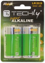 Techly LR20 D 1.5V Single-use battery Alkaline 1,5 V