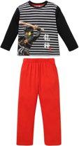 Lego Ninjago Jongens Pyjamaset - grijs - Maat 140