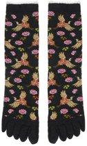 Bonnie Doon  - Dames - Teensokken  - Cranes Toe Sock  - Storm - Maat 36-42