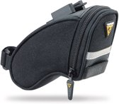 Topeak Aero Wedge Packs Micro Zadeltas - Clip&Clickfix - 0.45 liter - Zwart