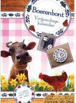 Boerenbont verjaardagskalender (A4)