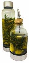 Bo-Bottle - 500 S en 500 ULTD Olie/ azijn flessen (2 flessen)