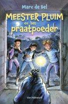 Boek cover Meester Pluim en het praatpoeder van Marc de Bel