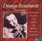Best Recordings 1 DJANGO REINHARDT