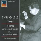 Emil Gilels Plays Chopin: Sonata No. 2, Op. 35/...