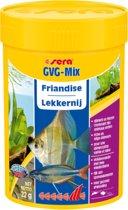 Sera GVG mix 100 ml vlokken met gedroogde dierlekkernijen