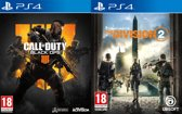 Call of Duty: Black Ops 4 + The Division 2 PS4