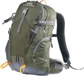 Dutch Mountains - Backpack IJssel - Rugzak 20 Ltr - Rugventilatie + Regenhoes - Groen