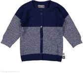 Snoozebaby Jongens Vest - blauw - Maat 62