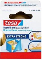 Tesa Dubbelzijdig tape - 38 mm x 2.75 m - Knutseltape