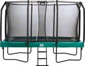 Trampoline - Salta First Class - 244 x 427 cm - Groen