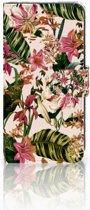 Xiaomi Mi A2 Lite Uniek Boekhoesje Flowers