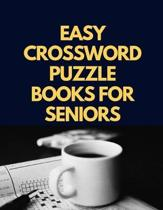 Easy Crossword Puzzle Books For Seniors