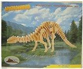 Bouwpakket Apathosaurus hout