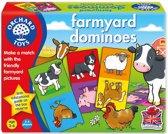 Orchard Toys Boerenerf Dominokaarten