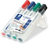 Staedtler Lumocolor - Whiteboard marker - 2mm - Rond - 4 stuks - Assorti