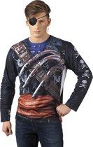 St. Fotorealistisch shirt Buccanneer (L)