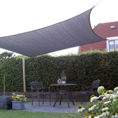 NC Outdoor Schaduwdoek vierkant 3,6m antraciet