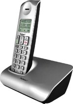 Profoon PDX 8200 - DECT telefoon - Zilver