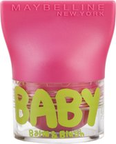 Maybelline Babylips Balm & Blush - 02 Flirty Pink - Roze - lipbalm & Blush in één