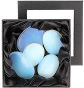Opaliet massage set - 5 oplegstenen edelsteen