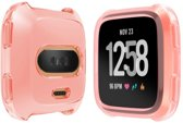 Soft Protective TPU Case Shell for Fitbit Versa - Pink