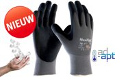 Set à 24 paar - Maxiflex allround montage werkhandschoenen ultimate ad-apt 42-874 - nitril foam-coating - maat  L
